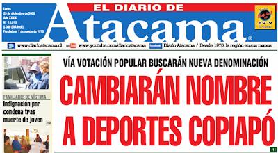 Ver fútbol Atacama