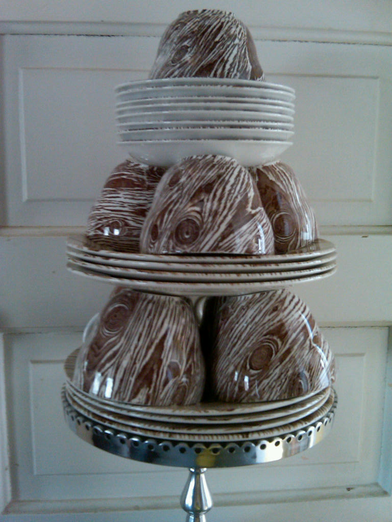... here and weddings in full bloom I thought about this wonderful gift idea for the Bride and Groom. A service for eight of my Faux Bois Dinnerware gifted ... & Ross Sveback - Elevating the Everyday: Faux Bois Dinnerware Cake ...