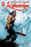 Blade of the Warrior: Kshatriya Issue 1 Cover