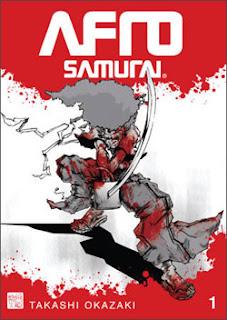 Afro Samurai Manga volume 1
