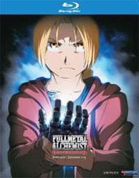 Fullmetal Alchemist Brotherhood Blu-ray