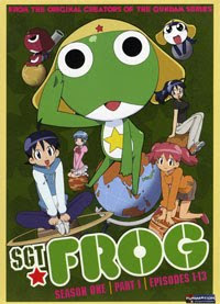 Sgt. Frog DVD Set 1, Part 1