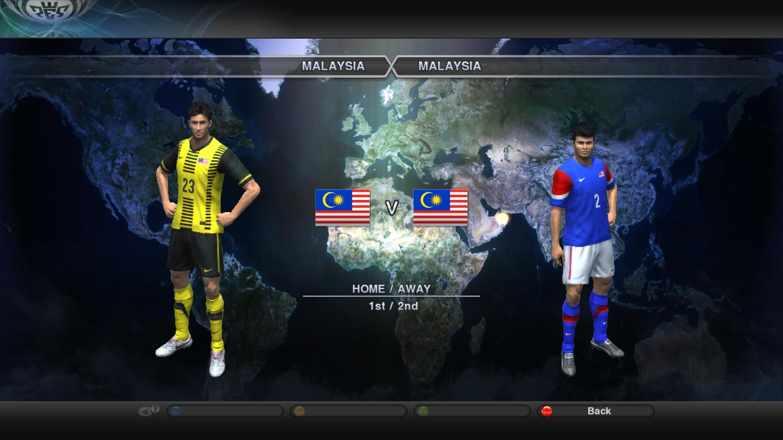 PES 2015 Addon AFF Team for PTE 60 - PES Patch
