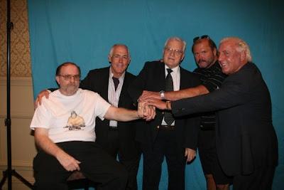 The Four Horsemen at the 2009 NWA Wrestling Legends Fanfest