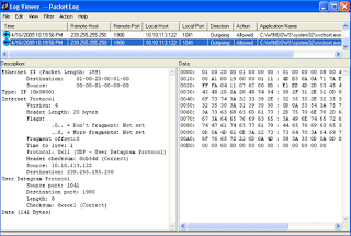 Firewall Packet Log