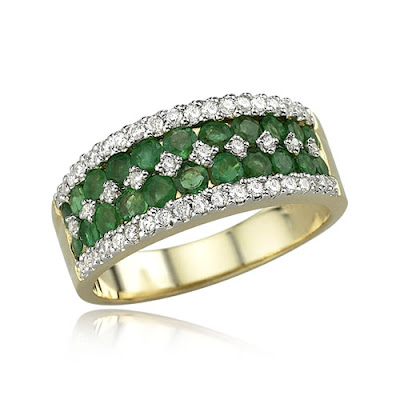 Modern Emerald Engagement Rings