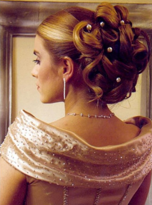 wedding elegent updo hairstyles