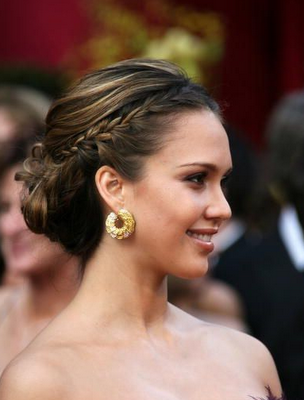 These are the some popular up do hairstyles with some popular celebrities