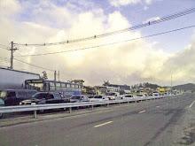 Rodoanel registra congestionamento na saída da Papa João XXIII em Mauá