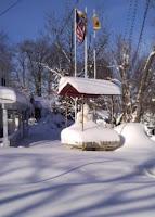 Snowbound Buddha