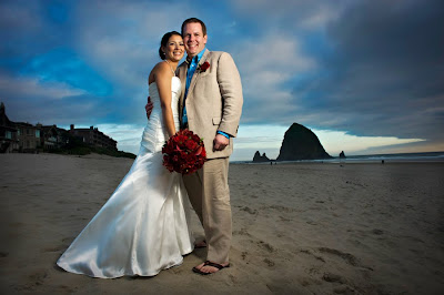 Beach Weddings Texas on Cannon Beach Wedding