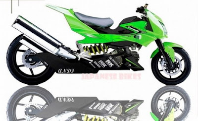 Kawasaki Athlete modification