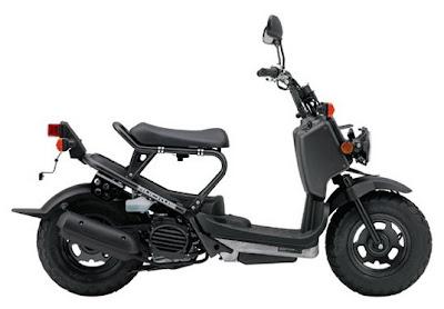 HONDA Scooter - 2009 Honda Motorcycle Models  2009 Honda Ruckus NPS50