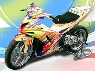yamaha motorcycle -  yamaha jupitr z mx modification