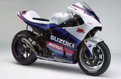 America top Suzuki GSV-R model style