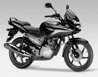 Honda CBF 125 honda motorcycle