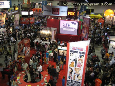 San Diego Comic Con Floor - Photo by video producer Patty Mooney of Crystal Pyramid Productions