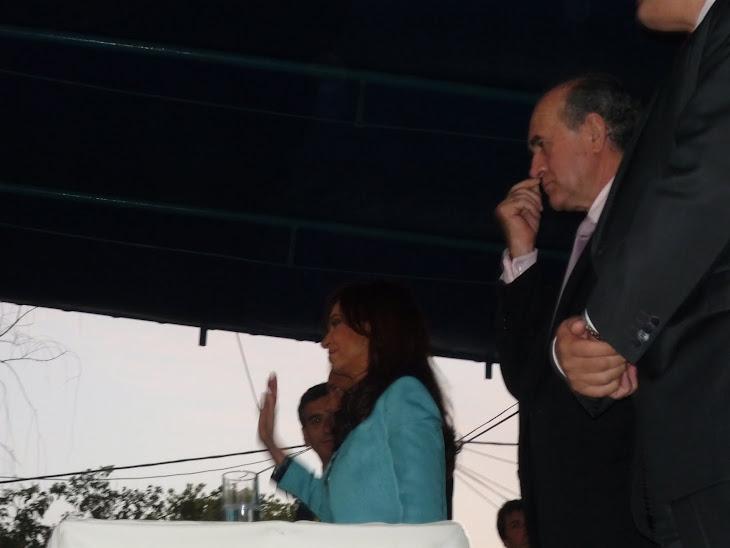 Cristina Fernández, la mujer que dio un giro a nuestra historia, estuvo en Lomas.