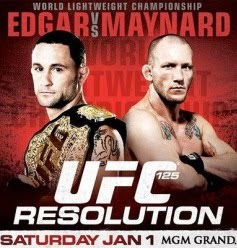 UFC 125 Resolution