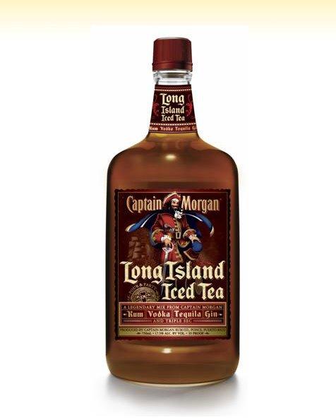 Ingredients Captain Morgan Long Island Iced Tea