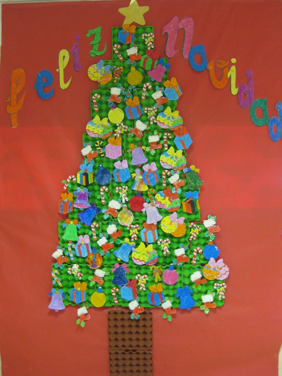 1 de primaria escuelas bosque diciembre 2010 for Arbol navidad infantil