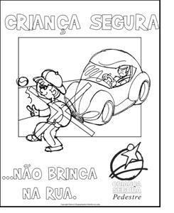 transito1 Cartazes sobre o trânsito para crianças