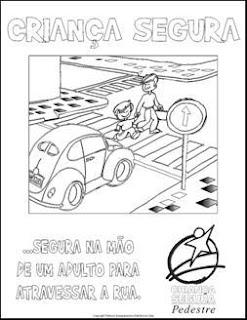 transito7 Cartazes sobre o trânsito para crianças