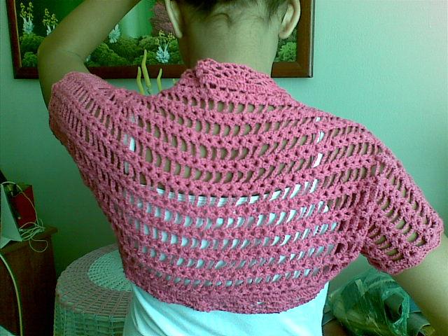Patrones de boleros a crochet paso a paso - Imagui