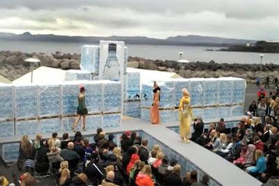 desastre en la semana de la moda islandesa