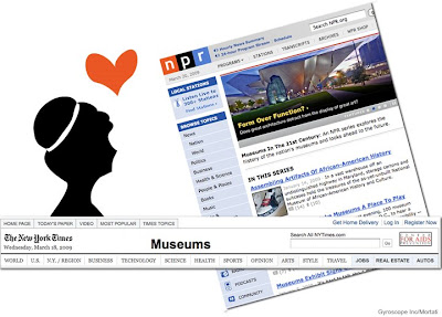 museum, npr, new york times, gyroscope, maria mortati