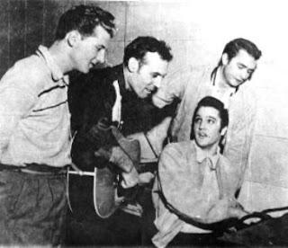 The Million Dollar Quartet : Jerry Lee Lewis, Carl Perkins, Elvis & Johnny Cash