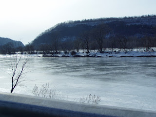 Mohawk River east of Little Falls