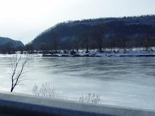 Mohawk River east of Little Falls