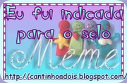 Ganhei o selo Meme da Tute Braga
