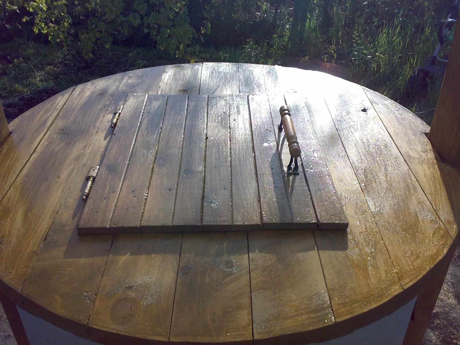 Декоративная крышка для колодца