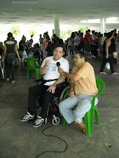 Guto Senatore entrevistando Valdir Timóteo do Movimento Inclusão Já
