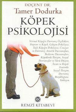 Köpeklerle ilgili kitap köpek psikolojisi tamer dodurka