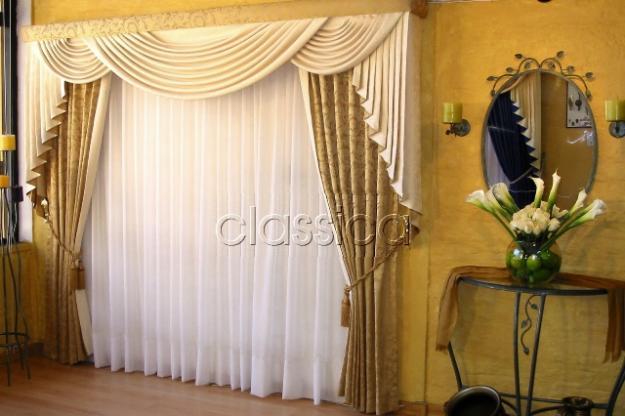 Cenefas decorativas para cortinas imagui for Cortinas decorativas