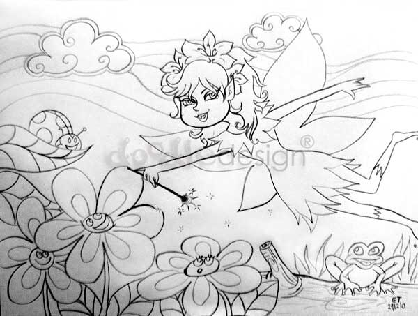 Pictures Of Fairies To Color. I haven#39;t drawn any fairies