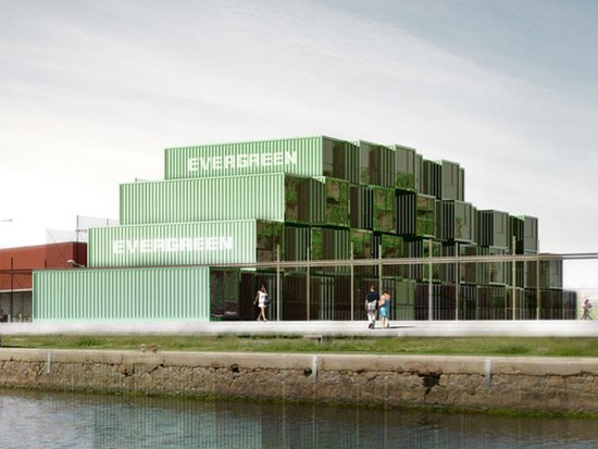 Shipping Containers Made into Homes