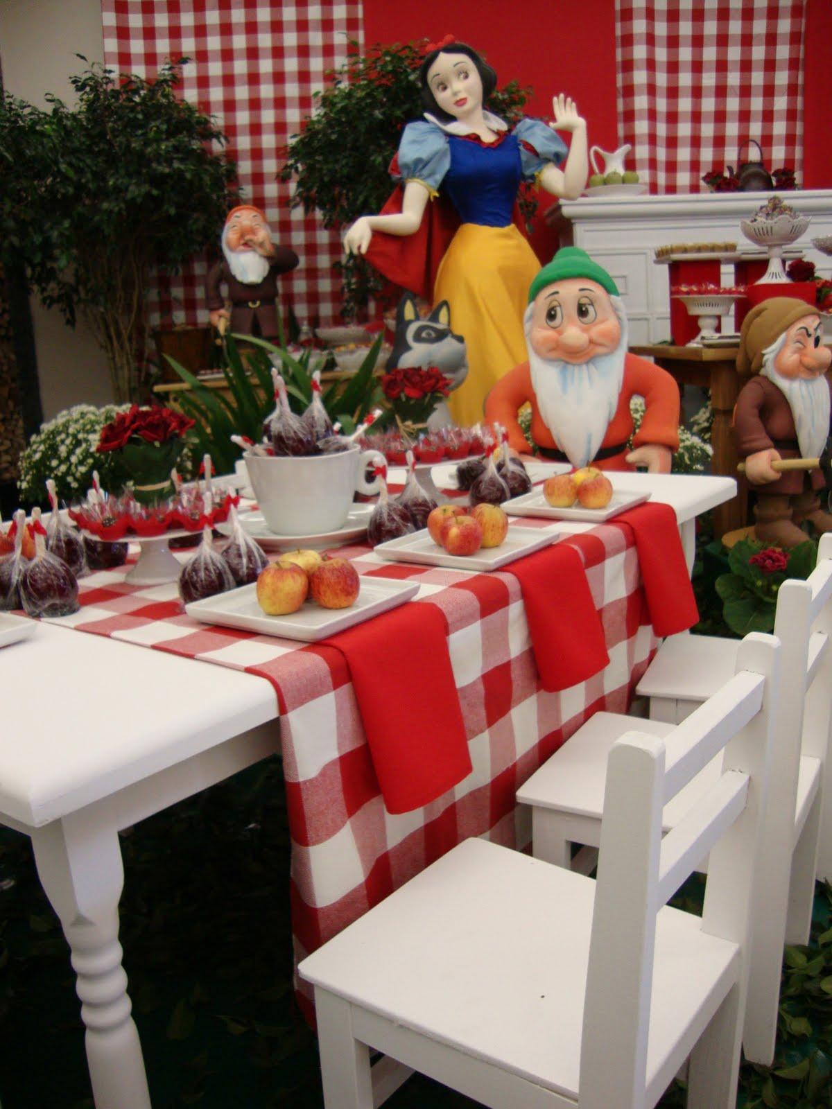 decoracao clean festa infantil branca de neve : decoracao clean festa infantil branca de neve:Gosto que se Discute: 28/06/2010