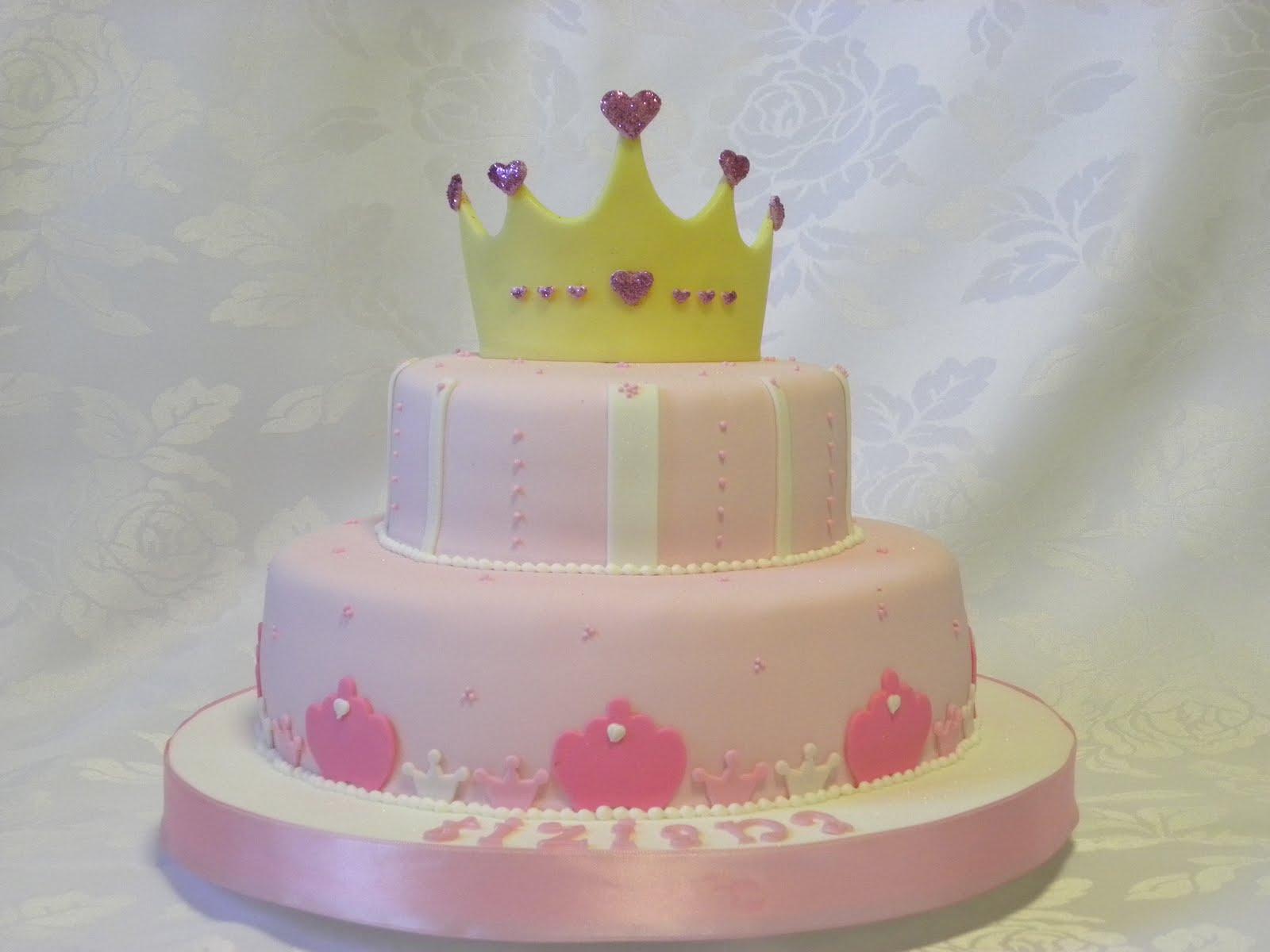 Torta Corona de Princesa
