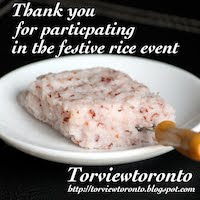 Festive Rice Award