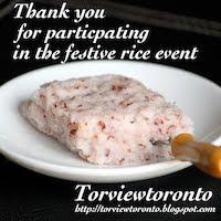 Festive Rice Award