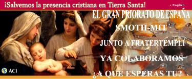 PRESENCIA CRISTIANA EN TIERRA SANTA