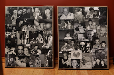 Simply sara photo canvas collages i found the perfect place for the color one to live but with the black and white ones i have yet to find just the right spot solutioingenieria Gallery