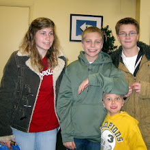 Rianne, Nathan, Sean and Caden