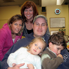 Sarah, my daughter, Amanda, sister-in-law, Tom, my son, Peyton and Tommy, my grandkids.