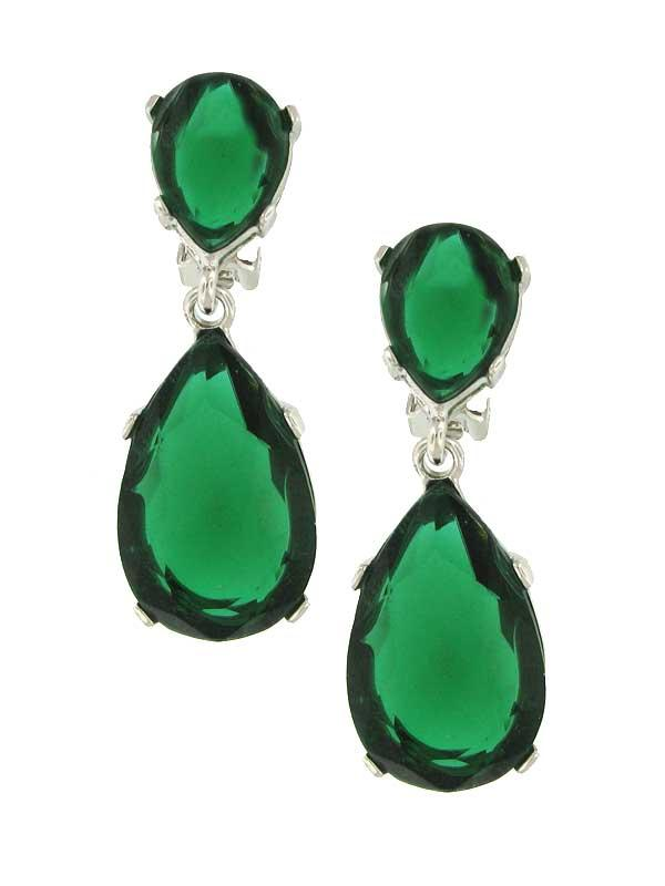 kyle richards emerald earrings. Kyle Richards Green Earrings