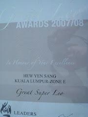 Great Leo Awards 07/08